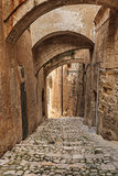 street in Matera, Italy