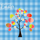 Happy Easter Background Vector Illustration
