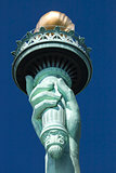 The Statue of Liberty the Torch Detail