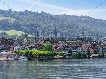 City of Zug Switzerland in the summer