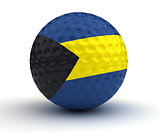 Bahamian Golf Ball