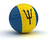 Barbadian Golf Ball