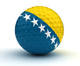 Bosnia-Herzegovina Golf Ball