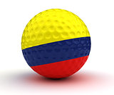 Colombian Golf Ball