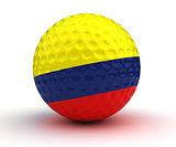 Colombian Golf Ball