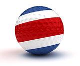 Costa Rikan Golf Ball