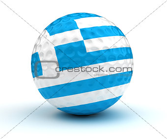 Greek Golf Ball