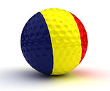Romanian Golf Ball
