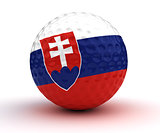 Slovakian Golf Ball