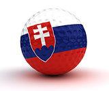 Slovakian Golf Ball