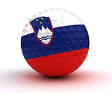 Slovenian Golf Ball