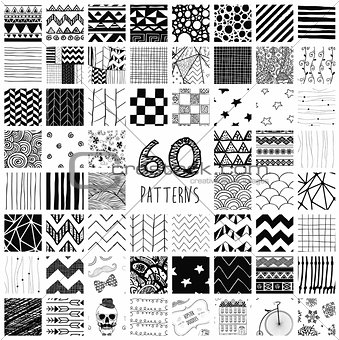 60 Vector Pattern Swatches