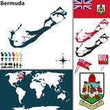 Map of Bermuda