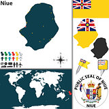 Map of Niue