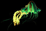 Yellow Green Jellyfish