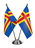 Aland - Miniature Flags.