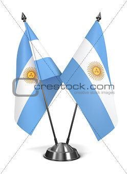 Argentina - Miniature Flags.
