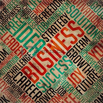 Business - Grunge Word Collage.