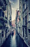 Old street in Venice