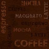 Typographic coffee poster