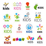 biggest collection of vector logos children