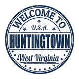 Welcome to Huntingtown stamp