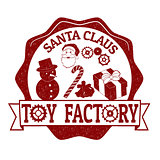 Santa Claus Toy Factory stamp