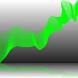 Strange green lines