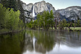 Merced river and Yosemite Falls