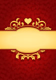 Love Hearts Banner Background