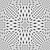 Design monochrome mosaic pattern