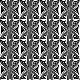 Design seamless geometric decorative pattern