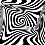 Design monochrome swirl movement background