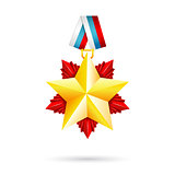 Award star for 23 February