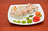 cream cheese salmon rolls