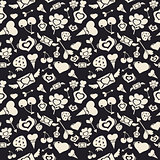 Sweet Valentine Pattern Dark