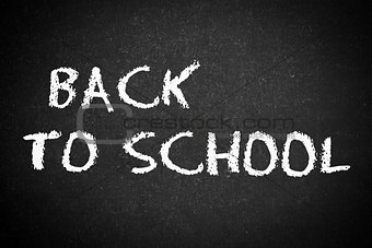 back to school, school or university blackboard