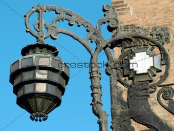 Old streetlamp from Bologna