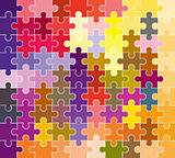 jigsaw puzzle pattern