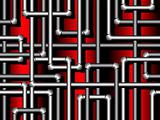 Seamless pattern with pipes