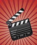 Open Movie Clapboard