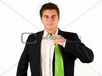 businessman afret work