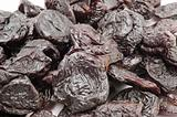 dried prunes macro