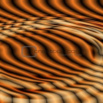 black orange ripples 2