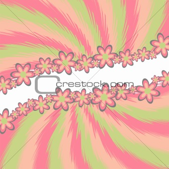 Abstract spring theme
