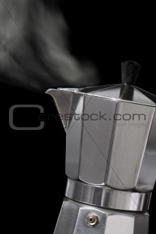 Moka express coffee maker