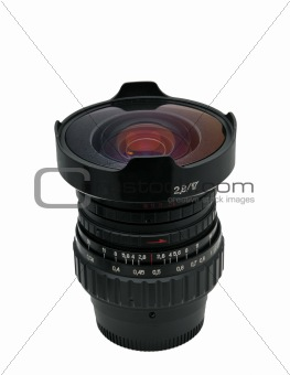 Fisheye- nice lens isolated