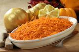 julienne carrots salade