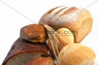 bread, wheat