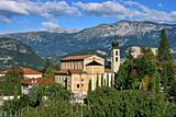 Rural church in Alps